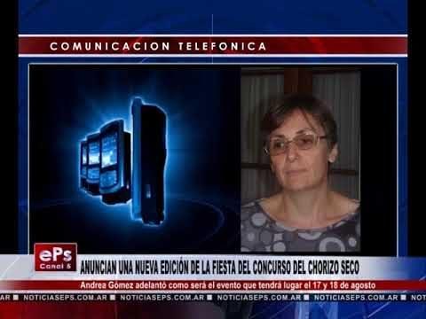 ANUNCIAN UNA NUEVA EDICIÓN DE LA FIESTA DEL CONCURSO DEL CHORIZO SECO