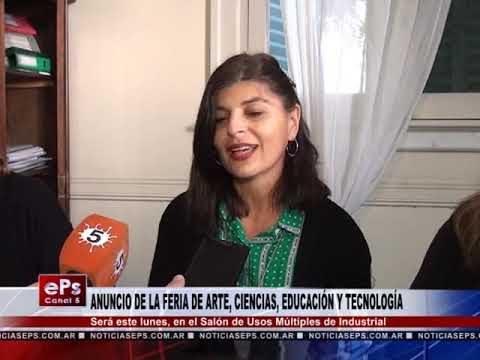 ANUNCIO DE LA FERIA DE ARTE, CIENCIAS, EDUCACIÓN Y TECNOLOGÍA