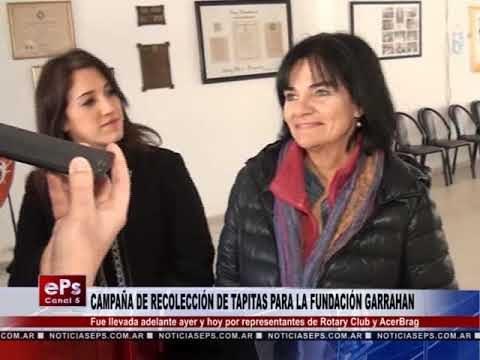 CAMPAÑA DE RECOLECCIÓN DE TAPITAS PARA LA FUNDACIÓN GARRAHAN