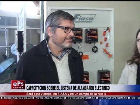 CAPACITACIÓN SOBRE EL SISTEMA DE ALAMBRADO ELÉCTRICO