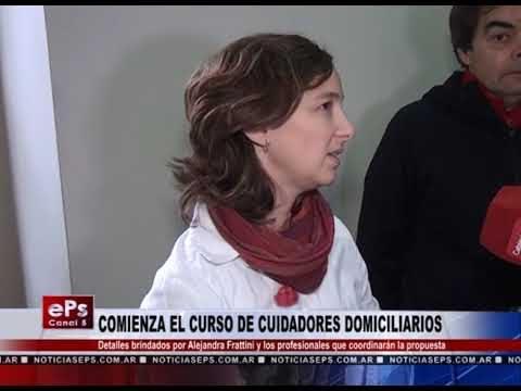 COMIENZA EL CURSO DE CUIDADORES DOMICILIARIOS