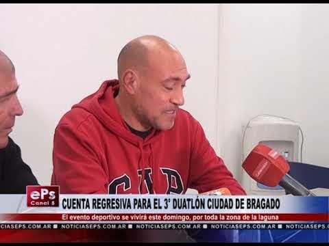 CUENTA REGRESIVA PARA EL 3° DUATLÓN CIUDAD DE BRAGADO