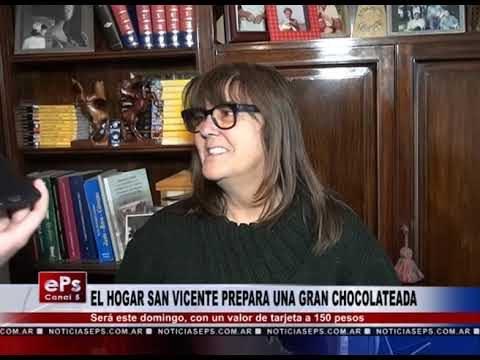 EL HOGAR SAN VICENTE PREPARA UNA GRAN CHOCOLATEADA