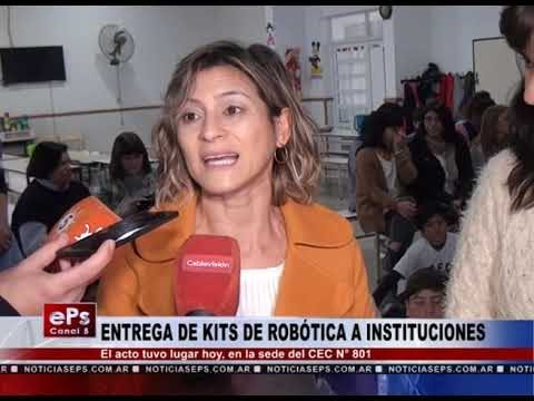 ENTREGA DE KITS DE ROBÓTICA A INSTITUCIONES