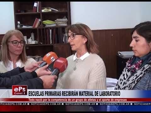 ESCUELAS PRIMARIAS RECIBIRÁN MATERIAL DE LABORATORIO