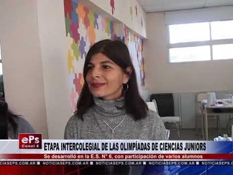ETAPA INTERCOLEGIAL DE LAS OLIMPÍADAS DE CIENCIAS JUNIORS