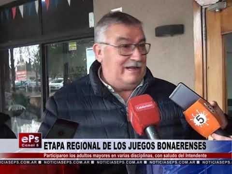 ETAPA REGIONAL DE LOS JUEGOS BONAERENSES