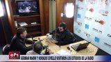 GERMAN MARINI Y HORACIO CIVELLO VISITARON LOS ESTUDIOS DE LA RADIO