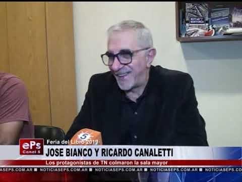 JOSE BIANCO Y RICARDO CANALETTI