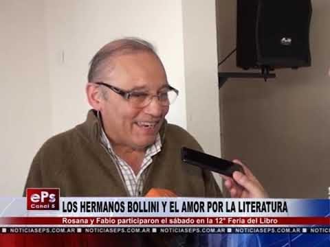 LOS HERMANOS BOLLINI Y EL AMOR POR LA LITERATURA