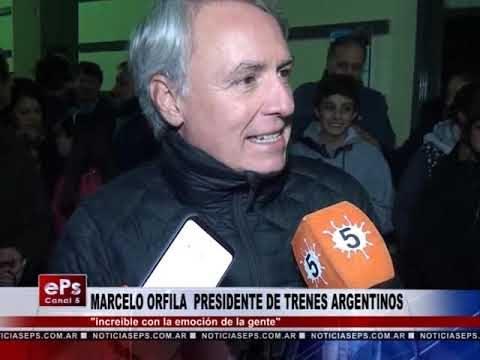 MARCELO ORFILA PRESIDENTE DE TRENES ARGENTINOS