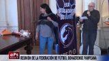 REUNIÓN DE LA FEDERACIÓN DE FÚTBOL BONAERENSE PAMPEANA