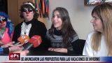 SE ANUNCIARON LAS PROPUESTAS PARA LAS VACACIONES DE INVIERNO