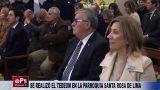 SE REALIZÓ EL TEDEUM EN LA PARROQUIA SANTA ROSA DE LIMA