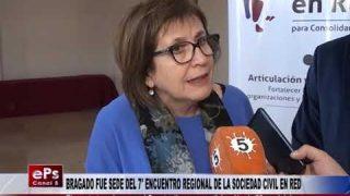 BRAGADO FUE SEDE DEL 7° ENCUENTRO REGIONAL DE LA SOCIEDAD CIVIL EN RED