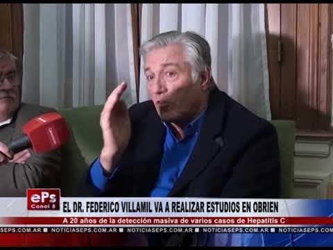 EL DR FEDERICO VILLAMIL VA A REALIZAR ESTUDIOS EN OBRIEN
