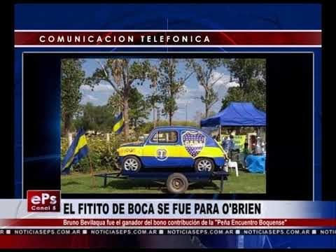 EL FITITO DE BOCA SE FUE PARA O'BRIEN