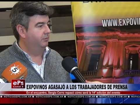 EXPOVINOS AGASAJÓ A LOS TRABAJADORES DE PRENSA