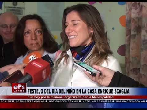 FESTEJO DEL DÍA DEL NIÑO EN LA CASA ENRIQUE SCAGLIA