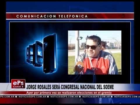 JORGE ROSALES SERÁ CONGRESAL NACIONAL DEL SOEME