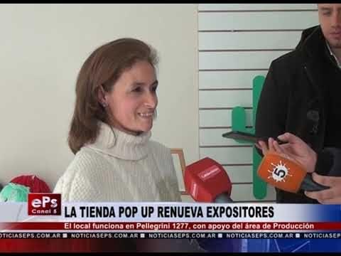 LA TIENDA POP UP RENUEVA EXPOSITORES