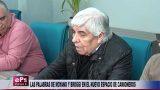 LAS PALABRAS DE MOYANO Y BROGGI EN EL NUEVO ESPACIO DE CAMIONEROS