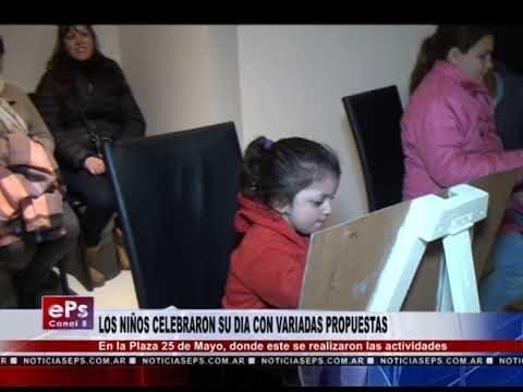 LOS NIÑOS CELEBRARON SU DIA CON VARIADAS PROPUESTAS