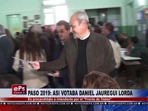 PASO 2019 ASI VOTABA DANIEL JAUREGUI LORDA