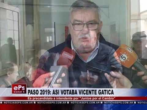 PASO 2019 ASI VOTABA VICENTE GATICA