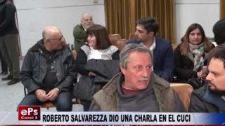 ROBERTO SALVAREZZA DIO UNA CHARLA EN EL CUCI