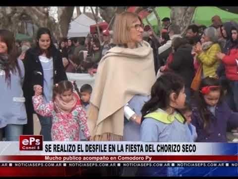 SE REALIZO EL DESFILE EN LA FIESTA DEL CHORIZO SECO