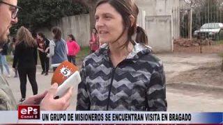 UN GRUPO DE MISIONEROS SE ENCUENTRAN VISITA EN BRAGADO