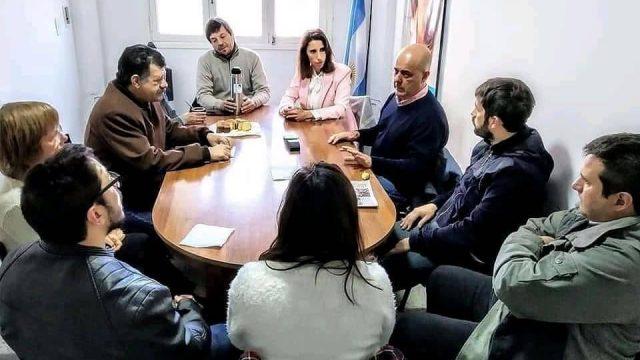 SERGIO BARENGHI SE REUNIÓ CON MEONI Y VISITÓ LA UNNOBA