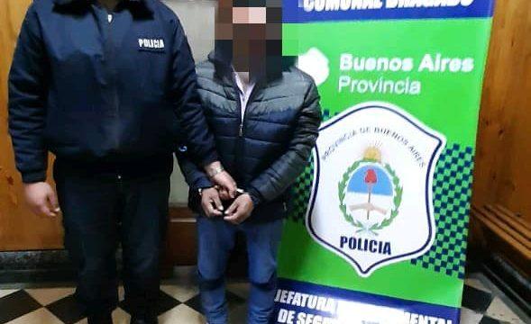 APREHENSIÓN POR VIOLENCIA DE GÉNERO Y DENUNCIA DE ROBO EN UNA QUINTA