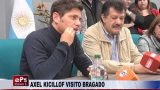 AXEL KICILLOF VISITO BRAGADO