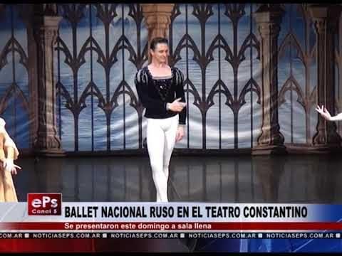 BALLET NACIONAL RUSO EN EL TEATRO CONSTANTINO