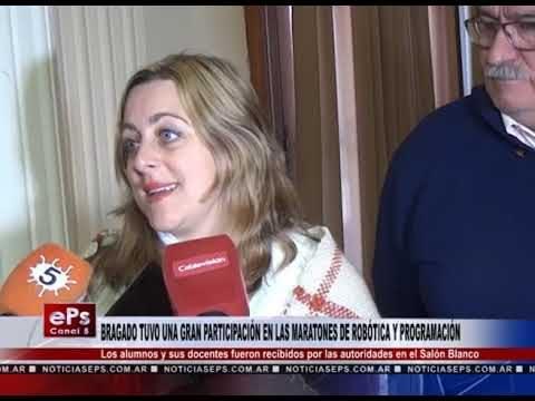 BRAGADO TUVO UNA GRAN PARTICIPACIÓN EN LAS MARATONES DE ROBÓTICA Y PROGRAMACIÓN