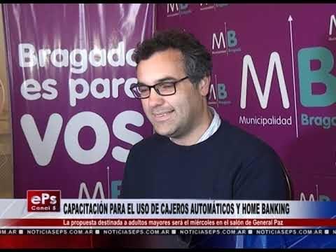 CAPACITACIÓN PARA EL USO DE CAJEROS AUTOMÁTICOS Y HOME BANKING