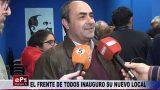 EL FRENTE DE TODOS INAUGURO SU NUEVO LOCAL
