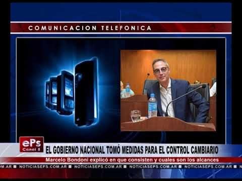 EL GOBIERNO NACIONAL TOMÓ MEDIDAS PARA EL CONTROL CAMBIARIO