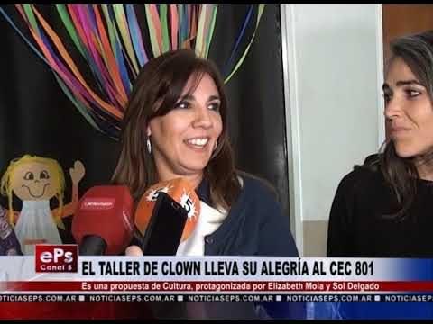 EL TALLER DE CLOWN LLEVA SU ALEGRÍA AL CEC 801
