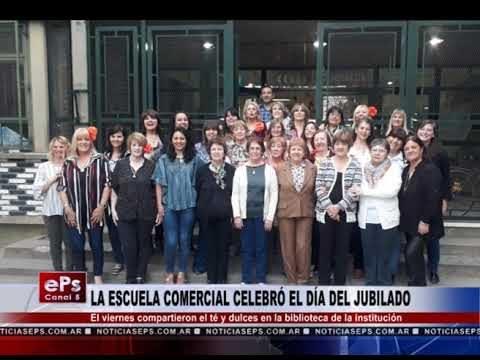 LA ESCUELA COMERCIAL CELEBRÓ EL DÍA DEL JUBILADO