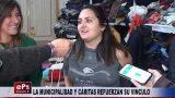 LA MUNICIPALIDAD Y CÁRITAS REFUERZAN SU VINCULO
