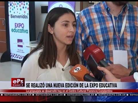 SE REALIZÓ UNA NUEVA EDICIÓN DE LA EXPO EDUCATIVA