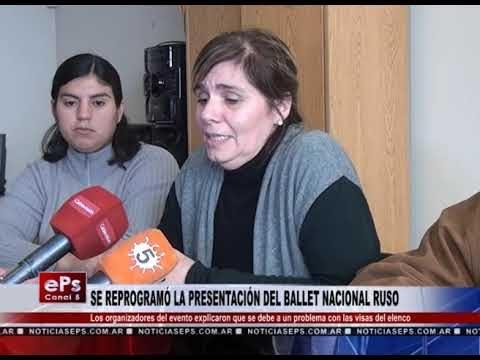 SE REPROGRAMÓ LA PRESENTACIÓN DEL BALLET NACIONAL RUSO