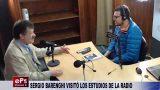 SERGIO BARENGHI VISITÓ LOS ESTUDIOS DE LA RADIO