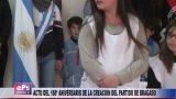 ACTO DEL 168º ANIVERSARIO DE LA CREACION DEL PARTIDO DE BRAGADO