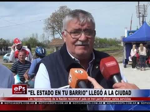 EL ESTADO EN TU BARRIO LLEGÓ A LA CIUDAD