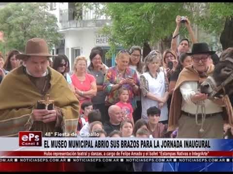 EL MUSEO MUNICIPAL ABRIO SUS BRAZOS PARA LA JORNADA INAUGURAL