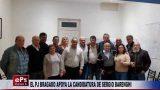 EL PJ BRAGADO APOYA LA CANDIDATURA DE SERGIO BARENGHI
